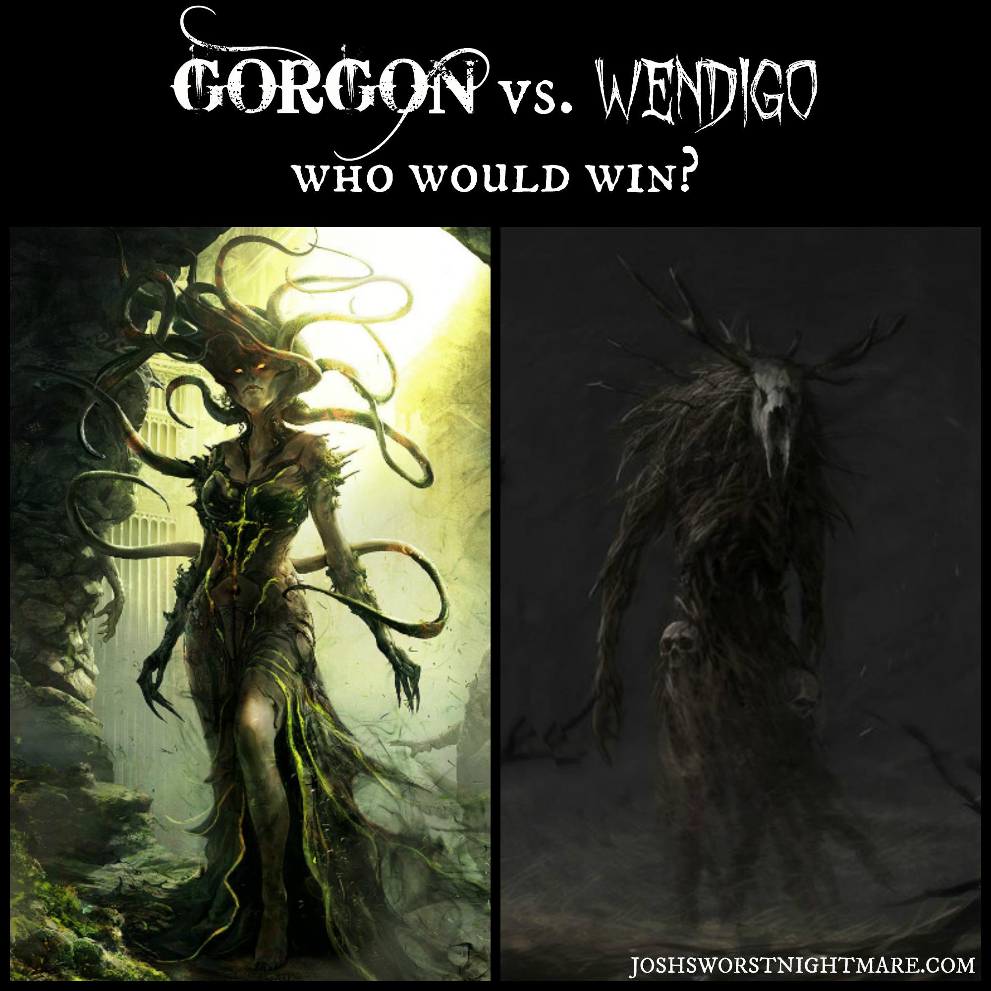 Gorgon vs Wendigo FINAL large