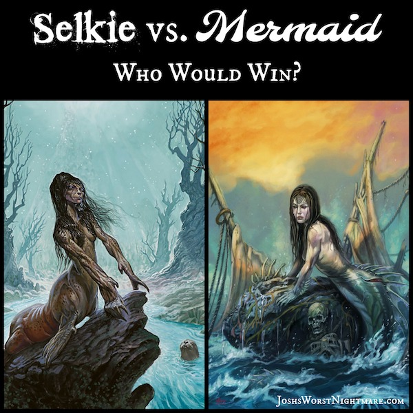 Selkie vs. Mermaid